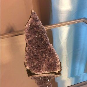 Raw Purple Amethyst
